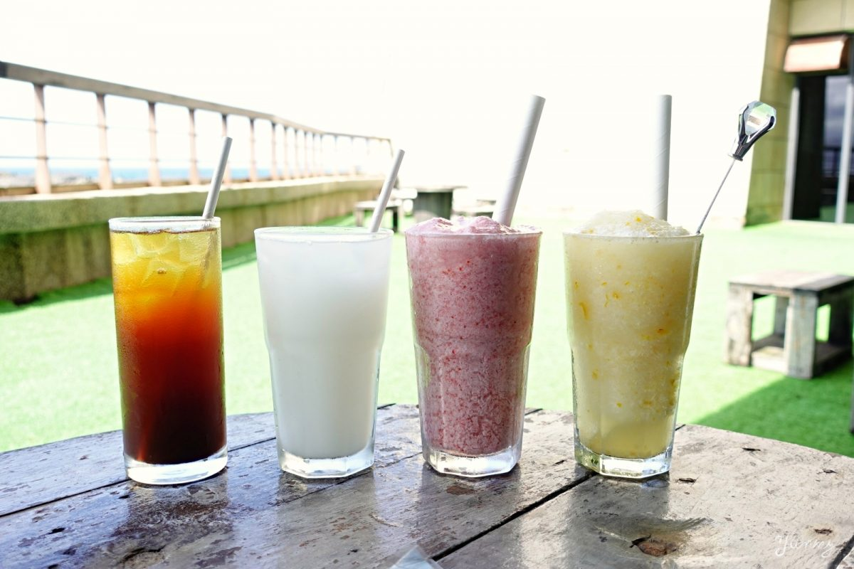 基隆美食推薦「藍食謐境」和平島海景餐廳,異國特色料理、海景下午茶好浪漫!