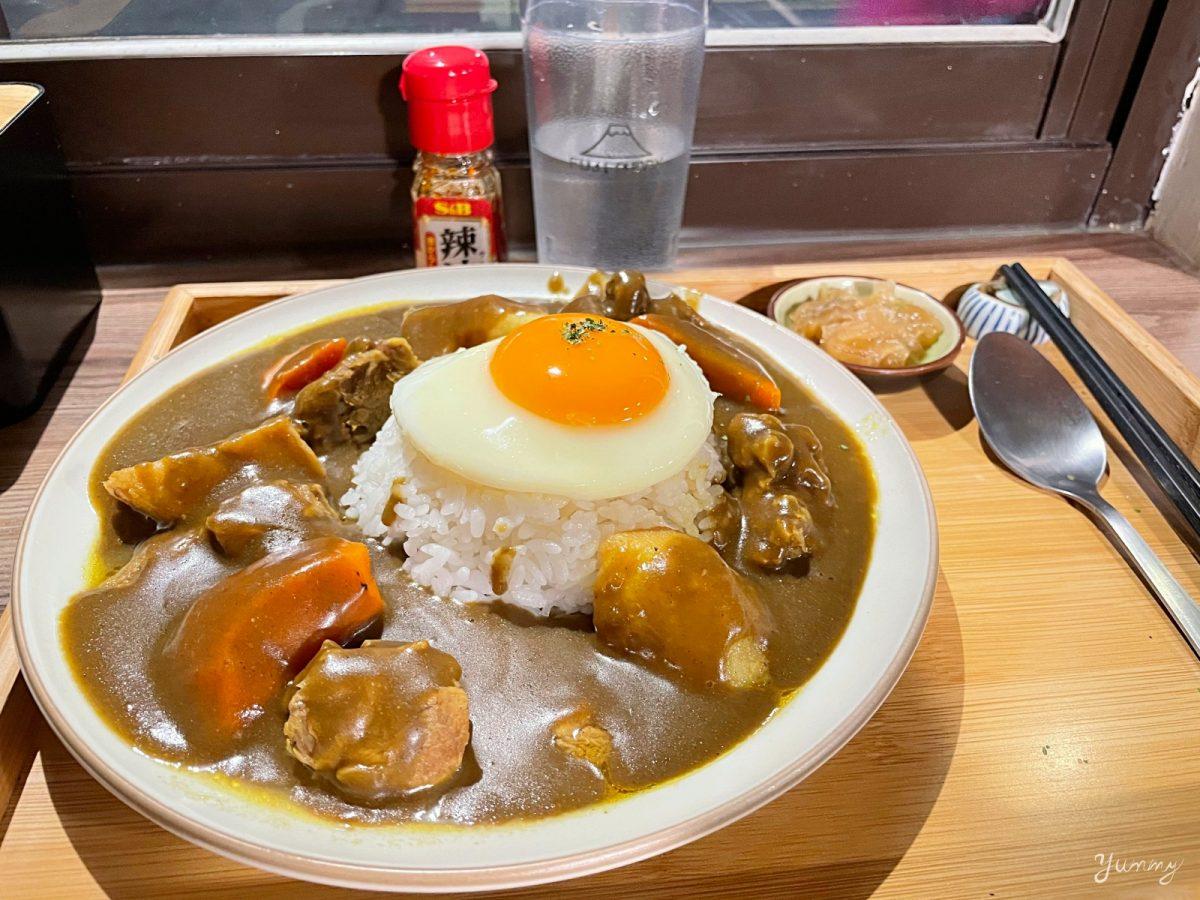 台北大安區美食「富士咖哩」台北人氣咖哩名店,咖哩濃郁美味不排隊吃不到!