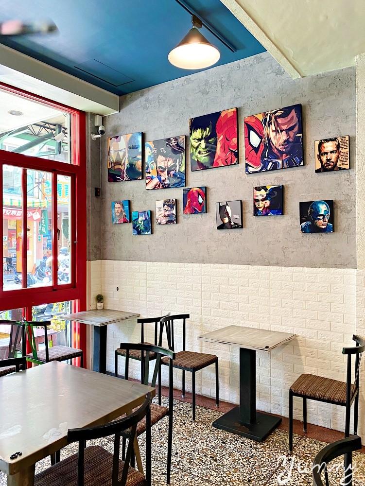 台中逢甲商圈美食推薦~「Mini 布朗」早午餐店,餐點多樣豐富、學生還有9折優惠!