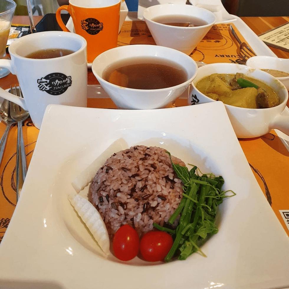 台北美食推薦「家咖哩」來自花蓮在地食材,獨特濃郁的好滋味~