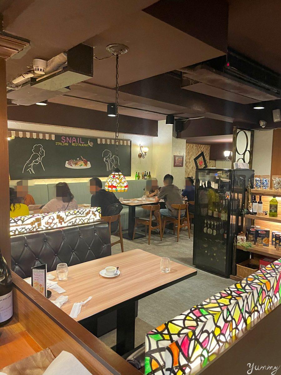 台北大安區美食推薦「Snail蝸牛義大利餐廳」菜色豐富多元的義式料理,美味又道地!
