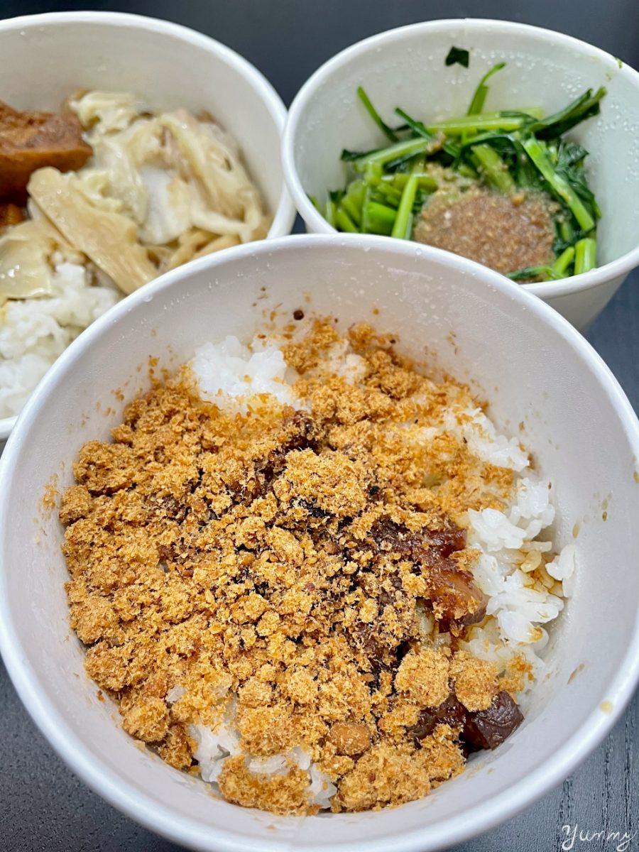 台北車站美食推薦「北北車魯肉飯」魯肉飯也能文青風,偏甜南部口味超欠吃!