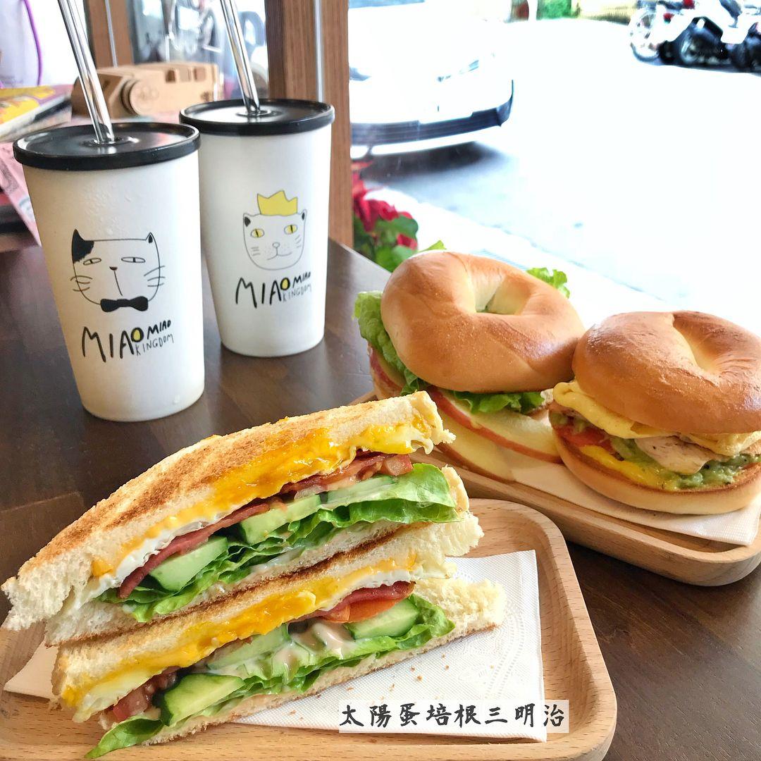 台北大安區咖啡店推薦「曬貓咖啡」療癒系咖啡店,超萌貓咪陪你一起吃早餐!