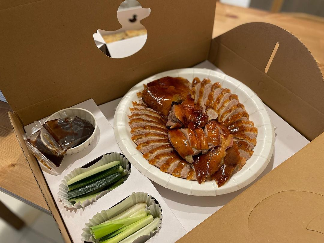 台中西區美食推薦「小鴨片」烤鴨皮脆多汁,防疫美食餐再宅也要吃烤鴨!