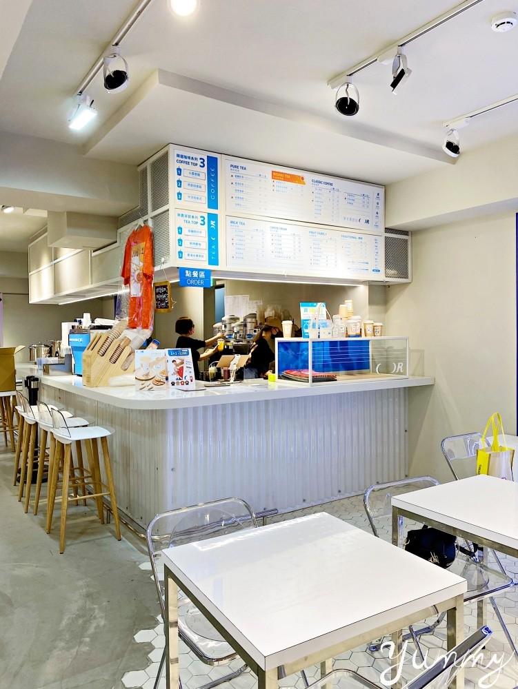 藝人Lulu及小樂共同打造的飲料品牌「COFFEE.TEA.OR」主打低熱量飲品~就在台北東區啦!