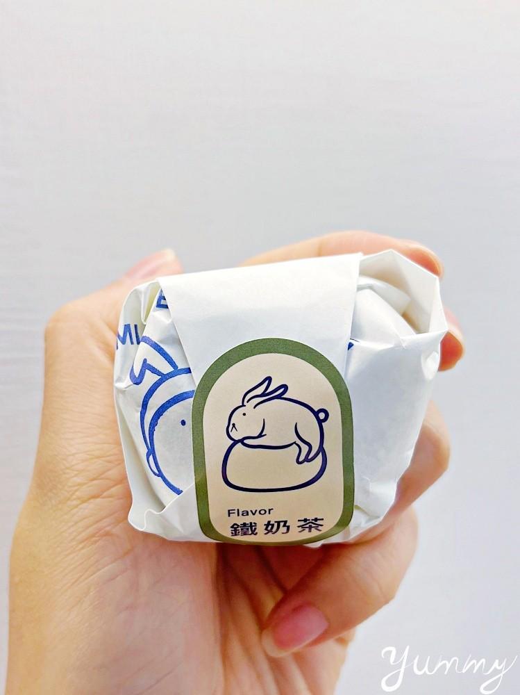 台中人氣網美麻糬店「米玥麻糬堂」,在台北東區也有分店了~可愛的兔兔包裝讓人凍未條啦!