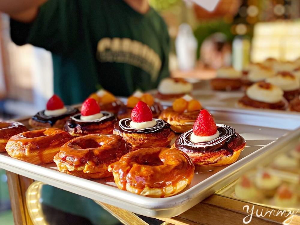 台中甜點推薦「艸水木堂」審計新村內甜甜圈專賣店,各種口味的甜甜圈都有!