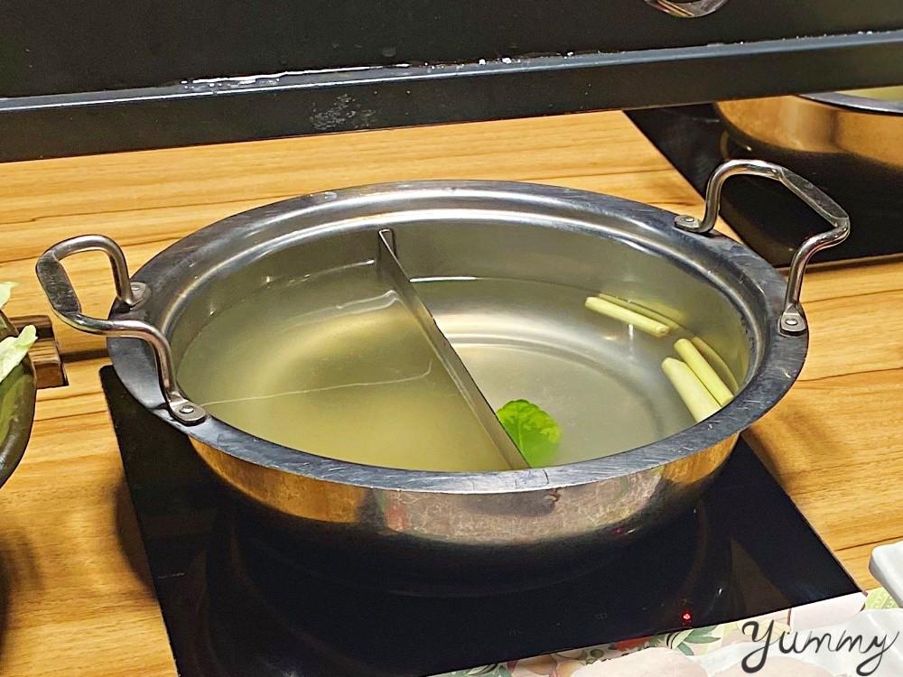 台北美食推薦~「藍象廷」泰式火鍋一個人也能吃鴛鴦鍋!