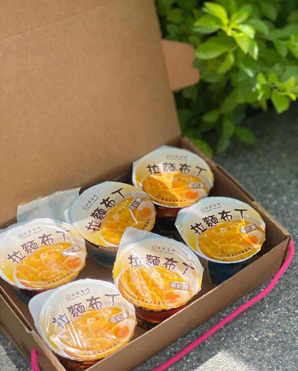 桃園人氣甜點「木匠手作 拉麵布丁」今夏最療癒冰品,IG夯爆創意甜點你吃過了沒?