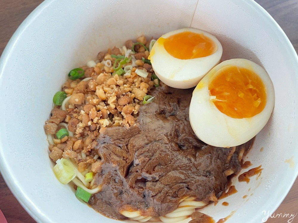 台北外送美食「KIKI麵」信義安和站必吃推薦,川味擔擔麵香辣帶勁,防疫也要吃美食!