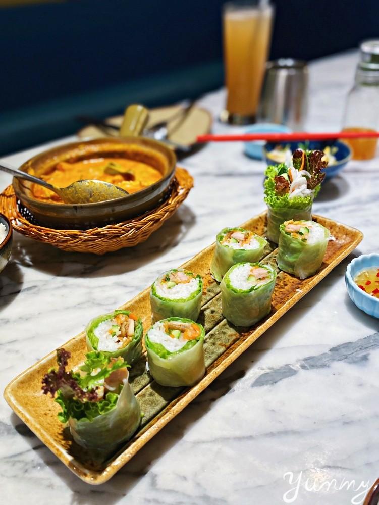 台中勤美美食「沐越」王品集團旗下越式餐廳,海陸推推鍋必吃!