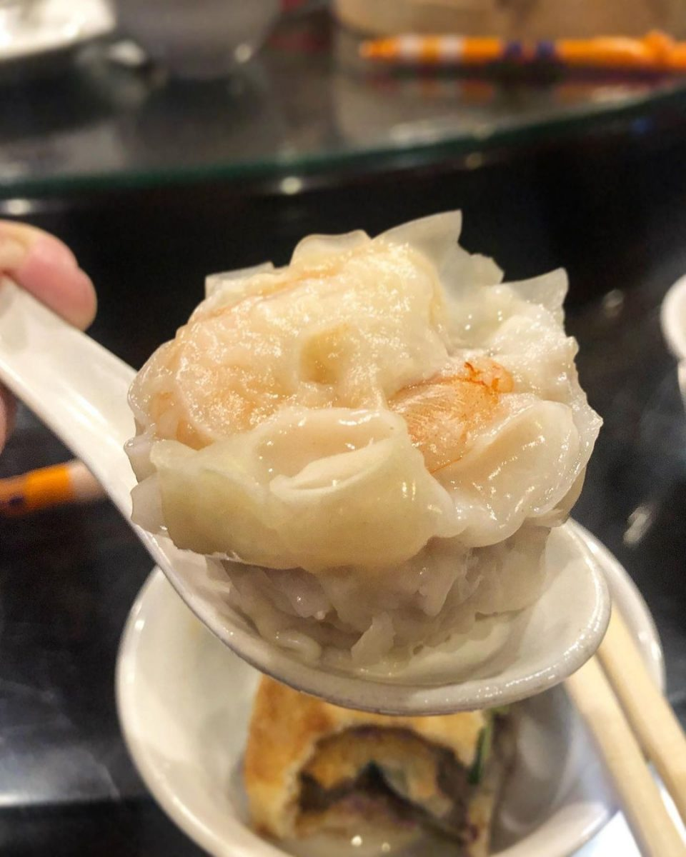 捷運東門站美食 盛園絲瓜小籠湯包 中正紀念堂必吃爆漿小籠湯包!