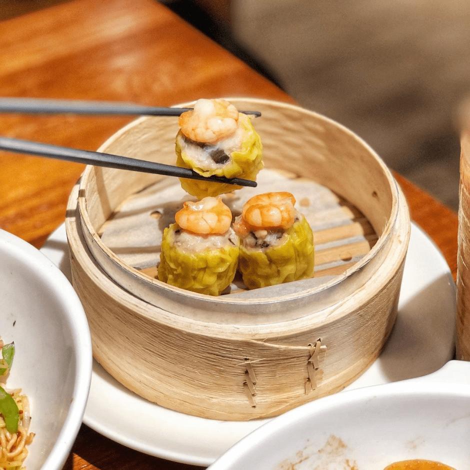 天母美食「左爺爺的港式茶餐廳」平價大份量 港式點心 熱炒 必推XO醬海鮮炒公仔麵