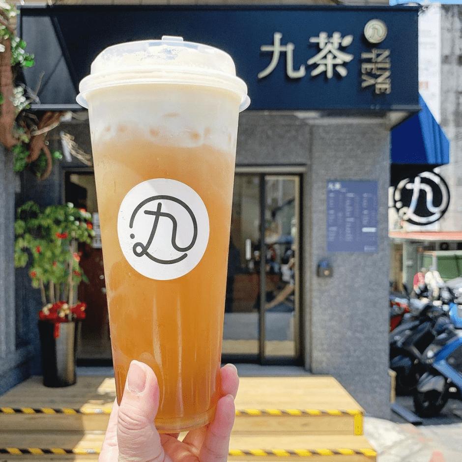 台北必喝手搖飲「九茶」陳零九全新副業 明星開的飲料店再加一