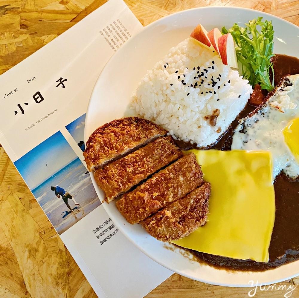 板橋咖哩飯推薦「我其實不想上班」老闆超有個性,巧克力暗黑咖哩必吃!