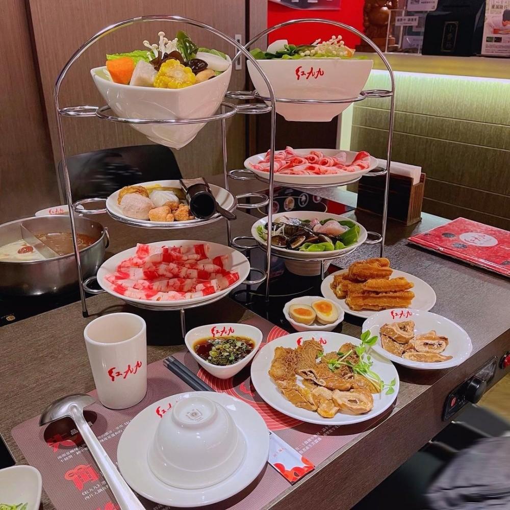 台北美食|紅九九個人麻辣鍋|一個人就能吃的鴛鴦火鍋