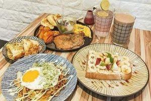 新竹美食|米庫早午食堂|被吐司耽誤到的炒麵店|早午餐文青小店