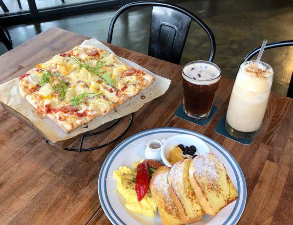 hecho做咖啡2店 Brunch &Bistro  勤美草悟道森林系異國料理 義大利街頭披薩、西班牙傳統市場早餐
